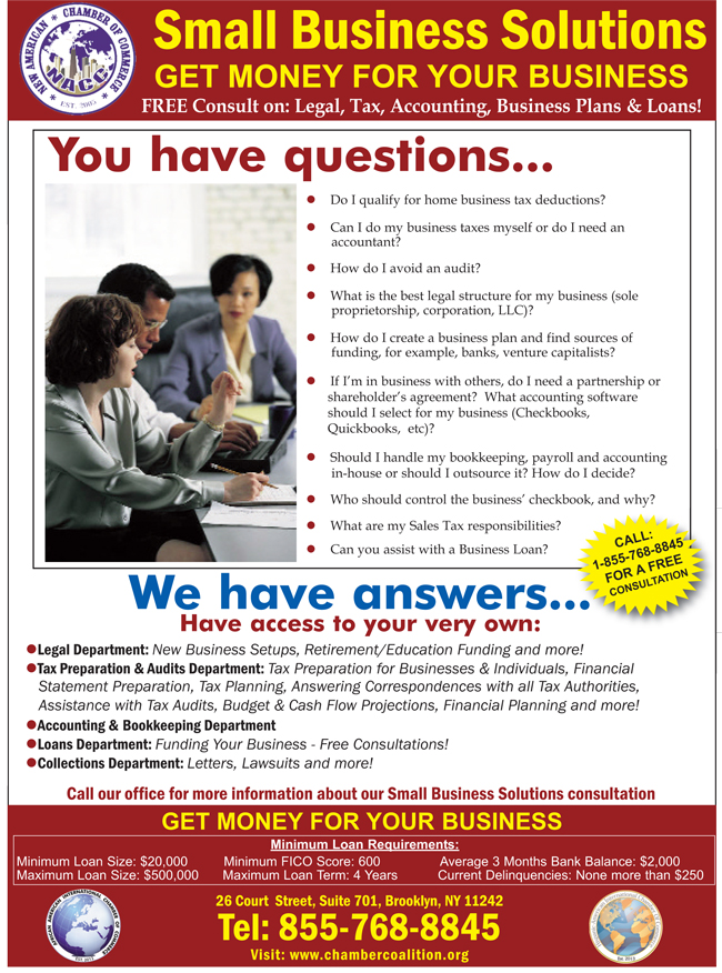 Small Business Solutions - Get Money for Your Business